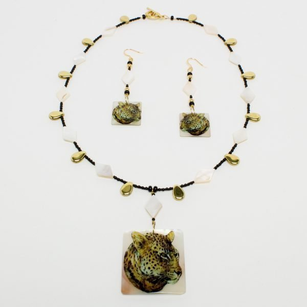 NE804 - Mr. Leo P. Ard Necklace and Earring Set