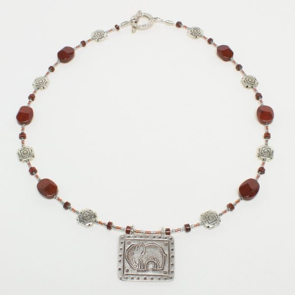 N806-1 - Jasper Ellie Necklace
