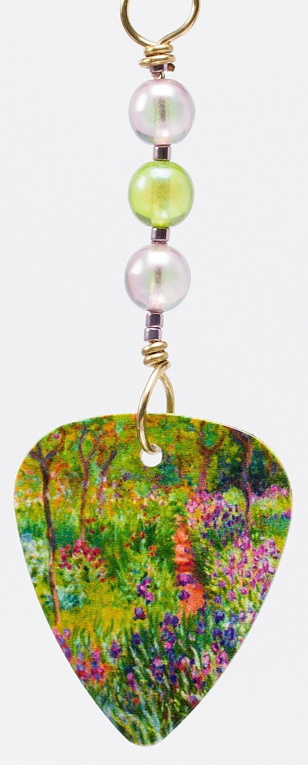 E513 - Iris Garden Earrings
