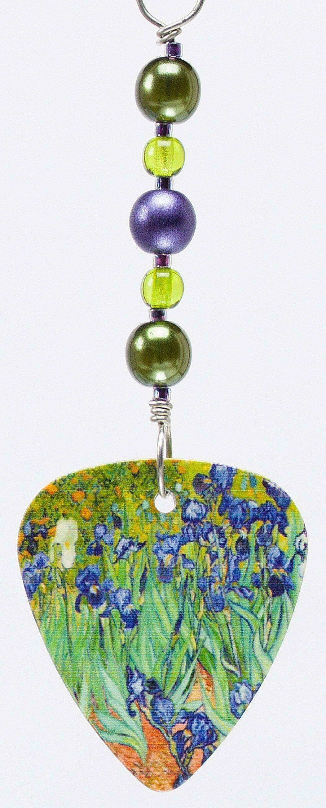 E608 - Irises Earrings