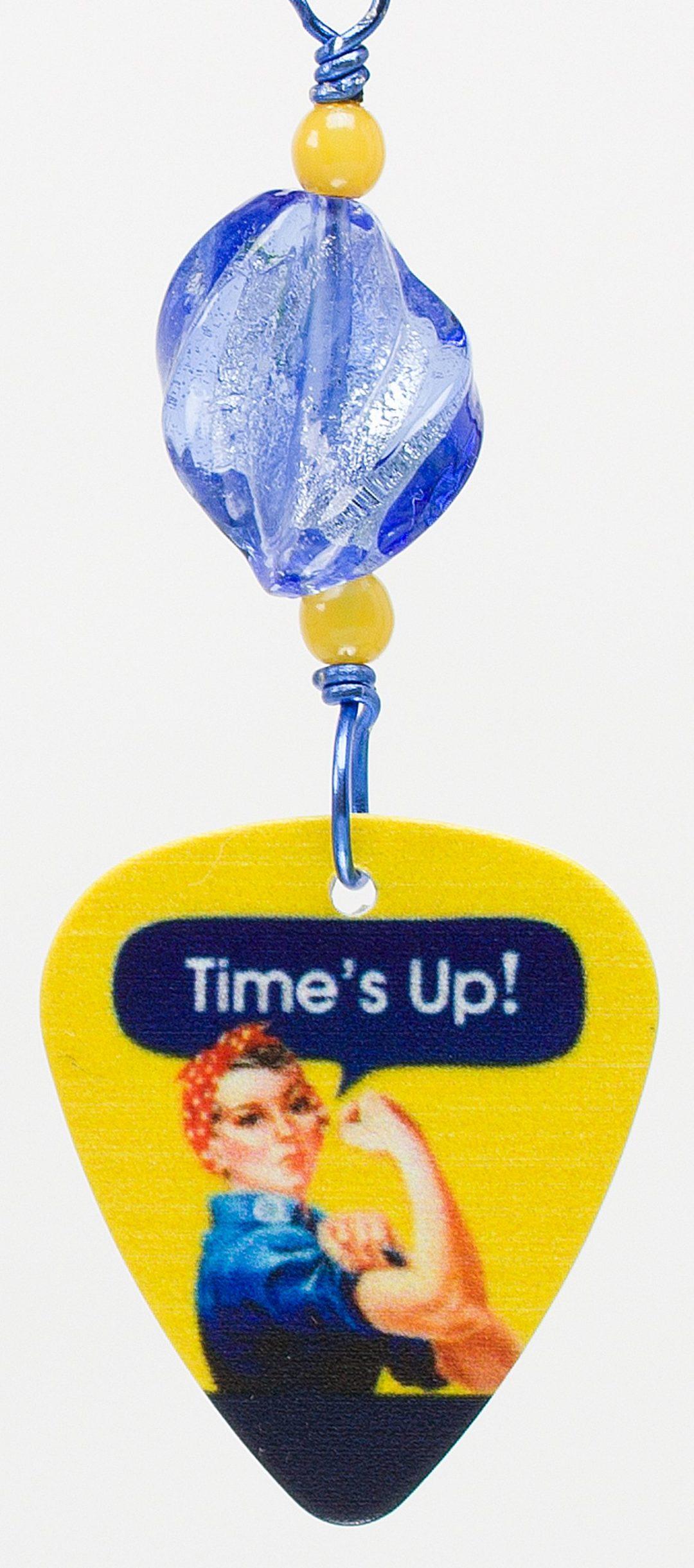 E763 - Time's Up Earrings
