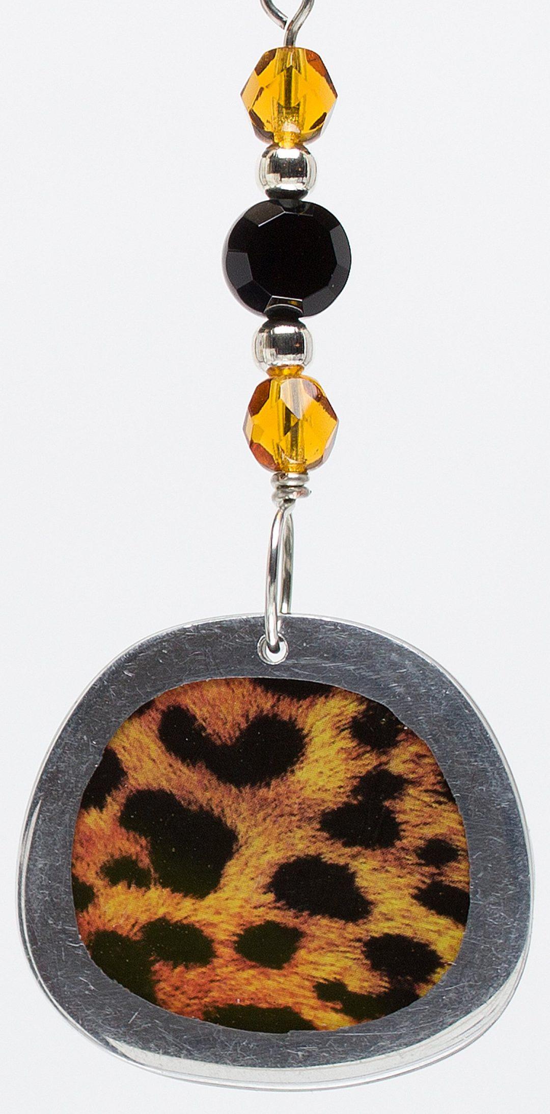 E776 - Cheetah Elegance Earrings