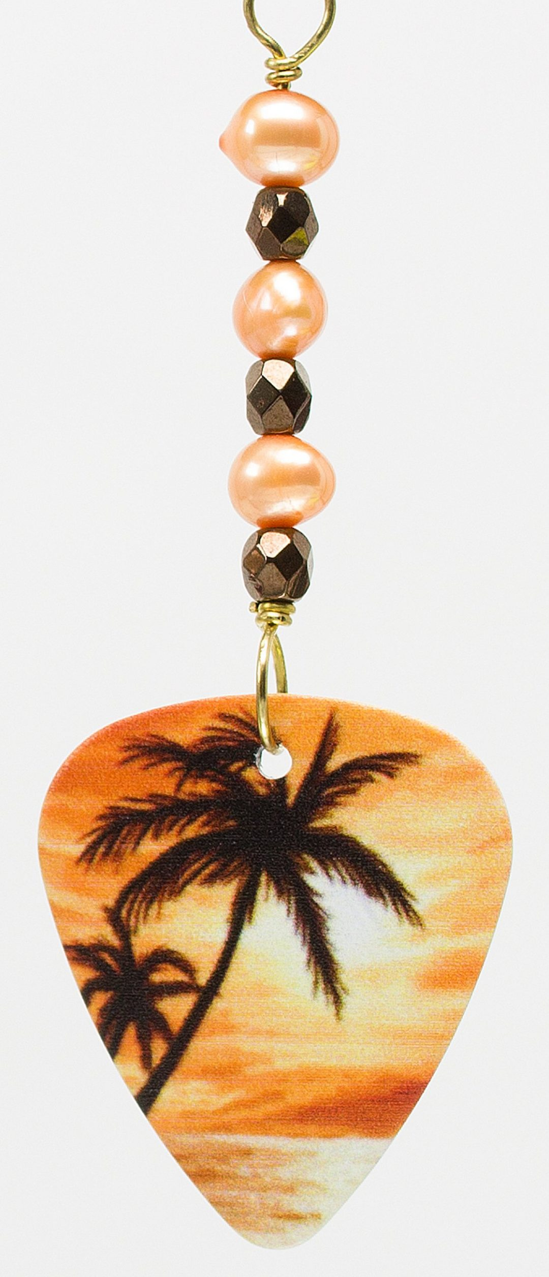 E782 - Sunset Palms Earrings