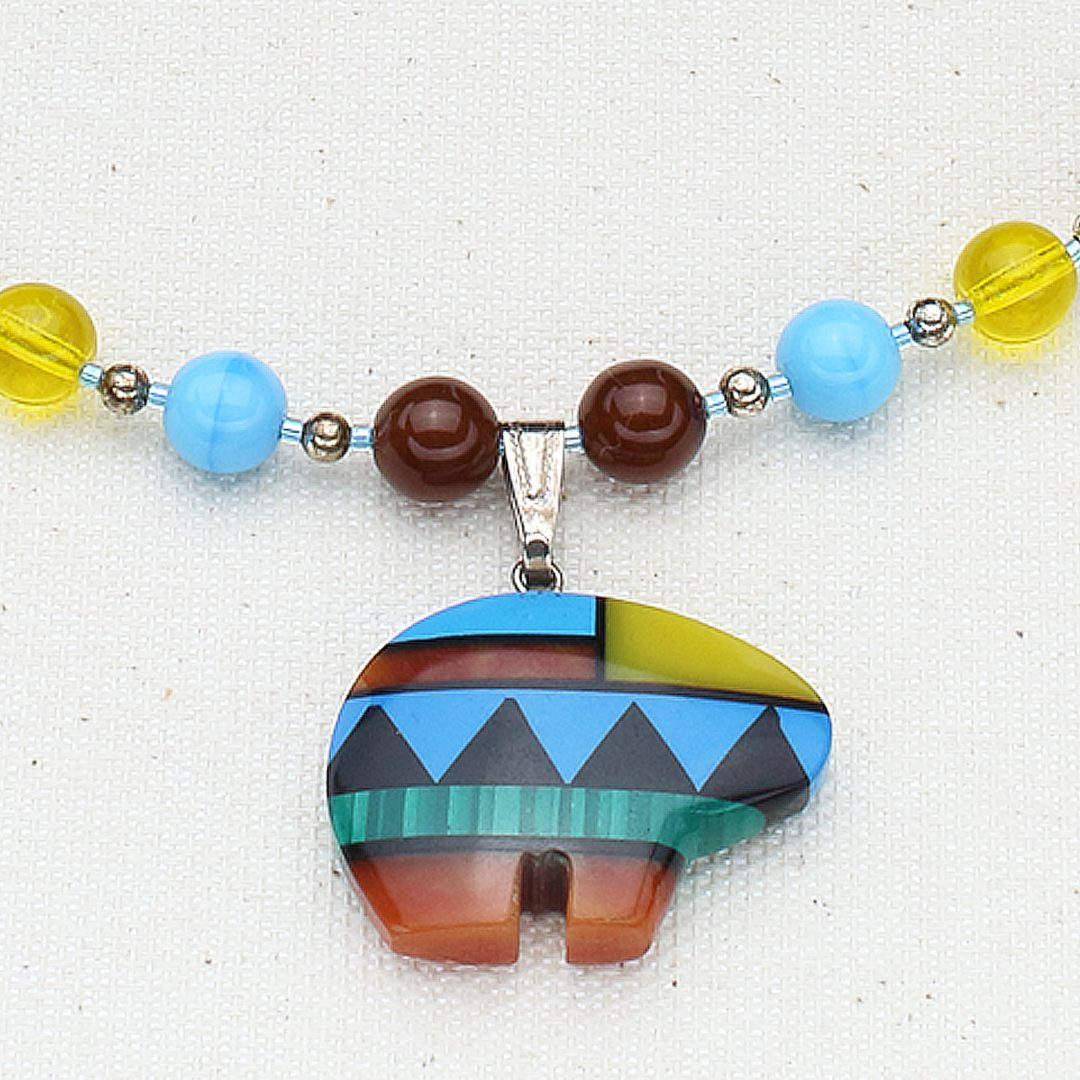 N444 - Party Zuni Necklace