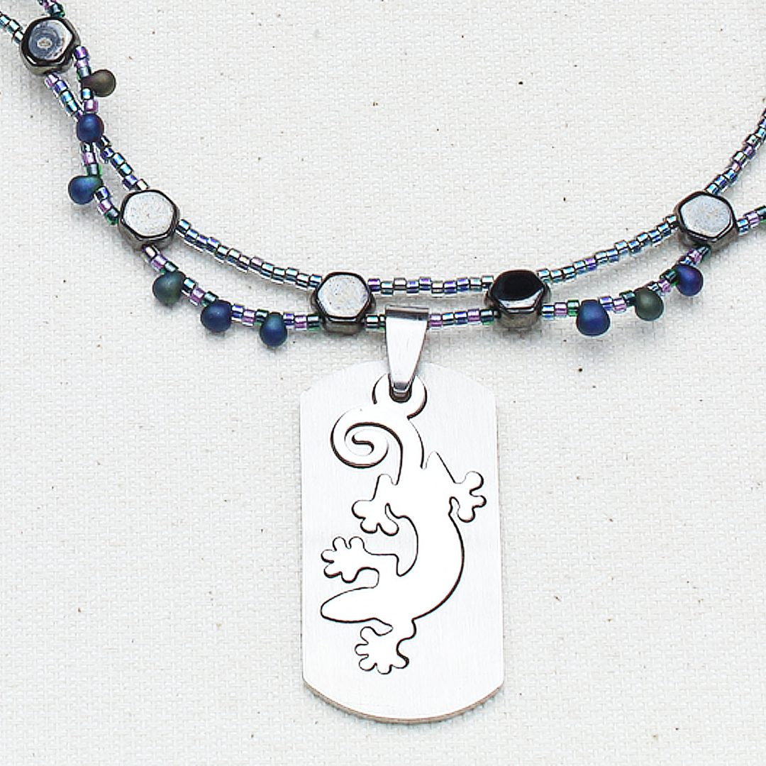N606 - Leapin' Lizard Necklace