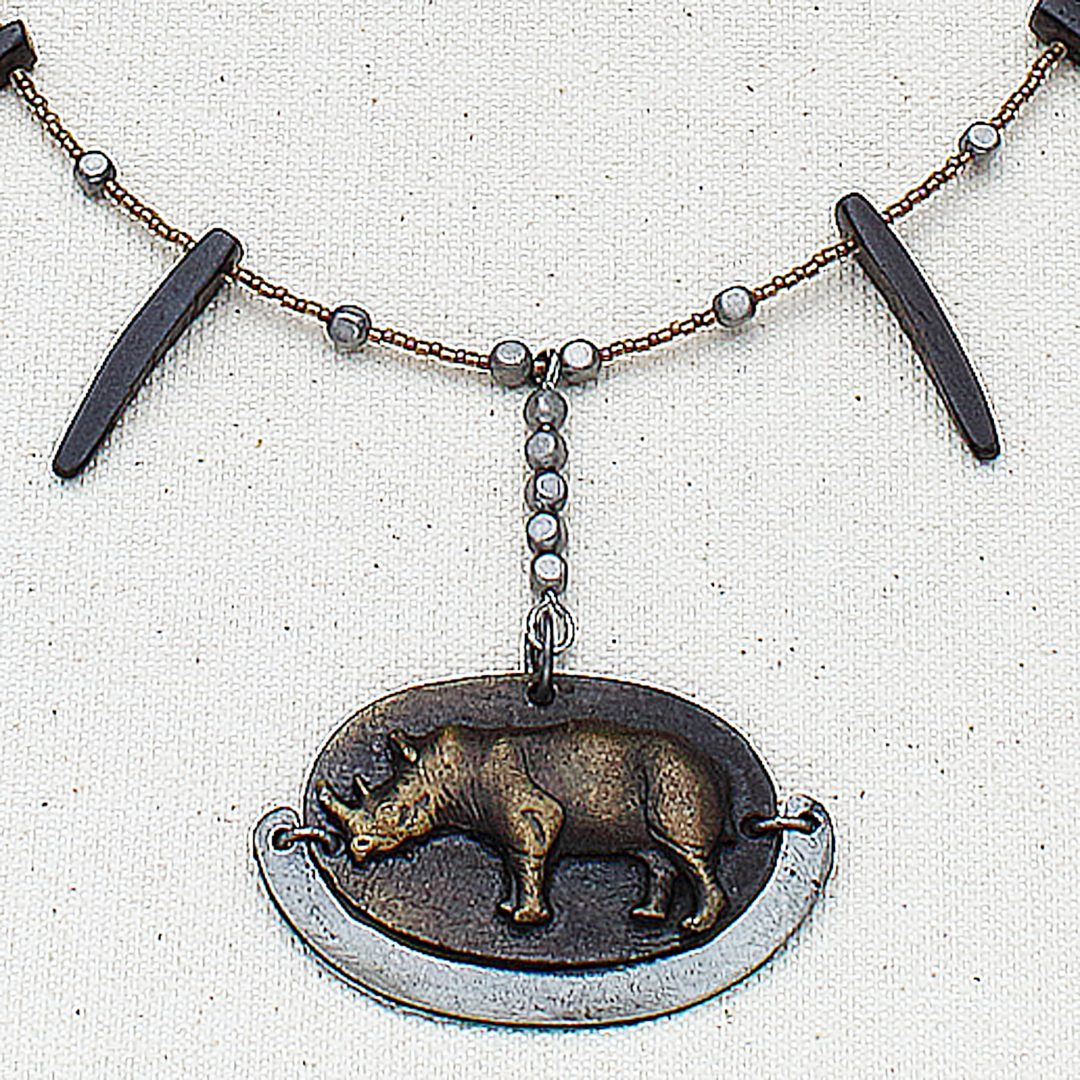 N624 - Save the Rhinos Necklace