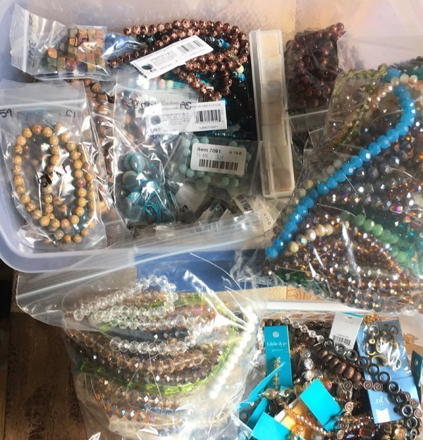 Beads, beads, and more beads.