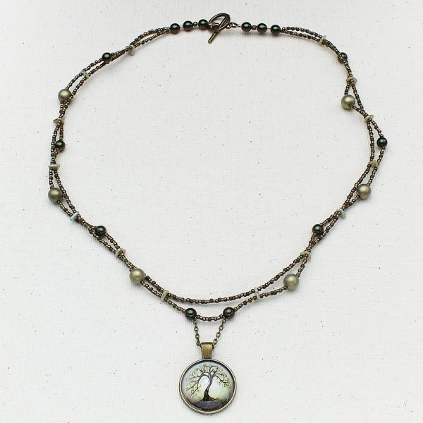 N638 - Mystic Tree Necklace