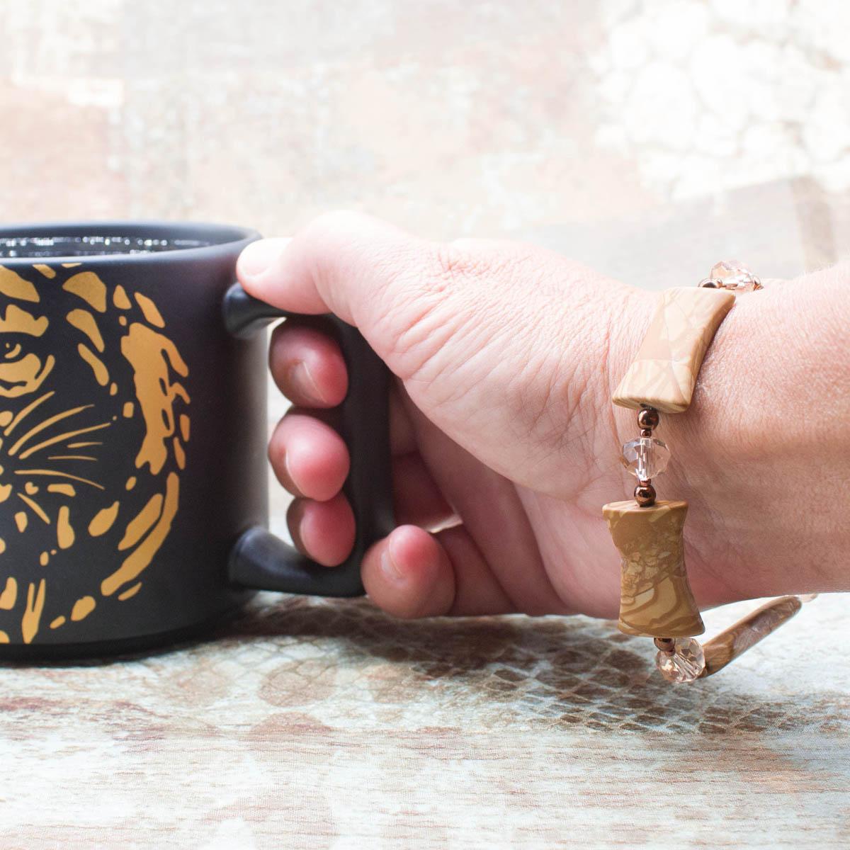 Crystal Woodland Bracelet