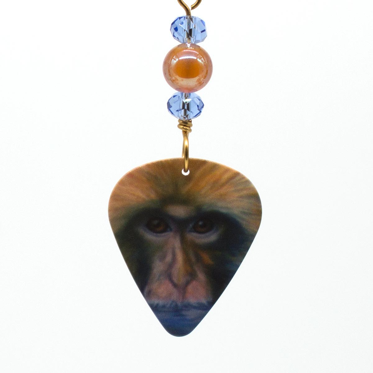 Macaque Attack Earrings