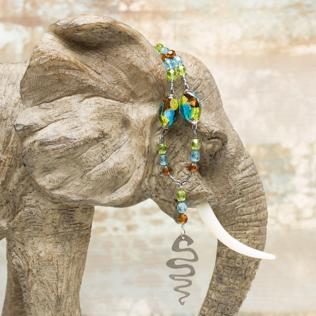 N434 - Sea Snake Necklace