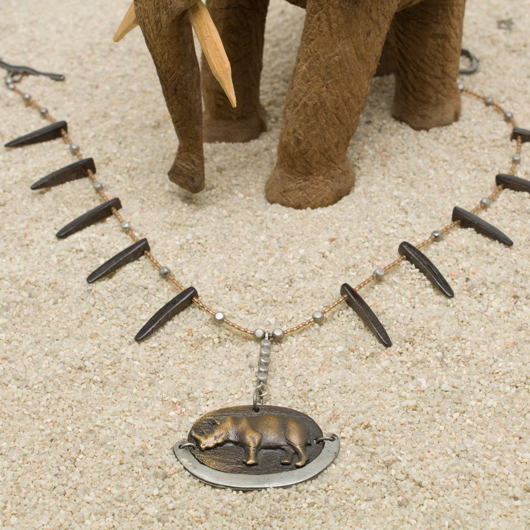 N624-L-Save the Rhinos Necklace